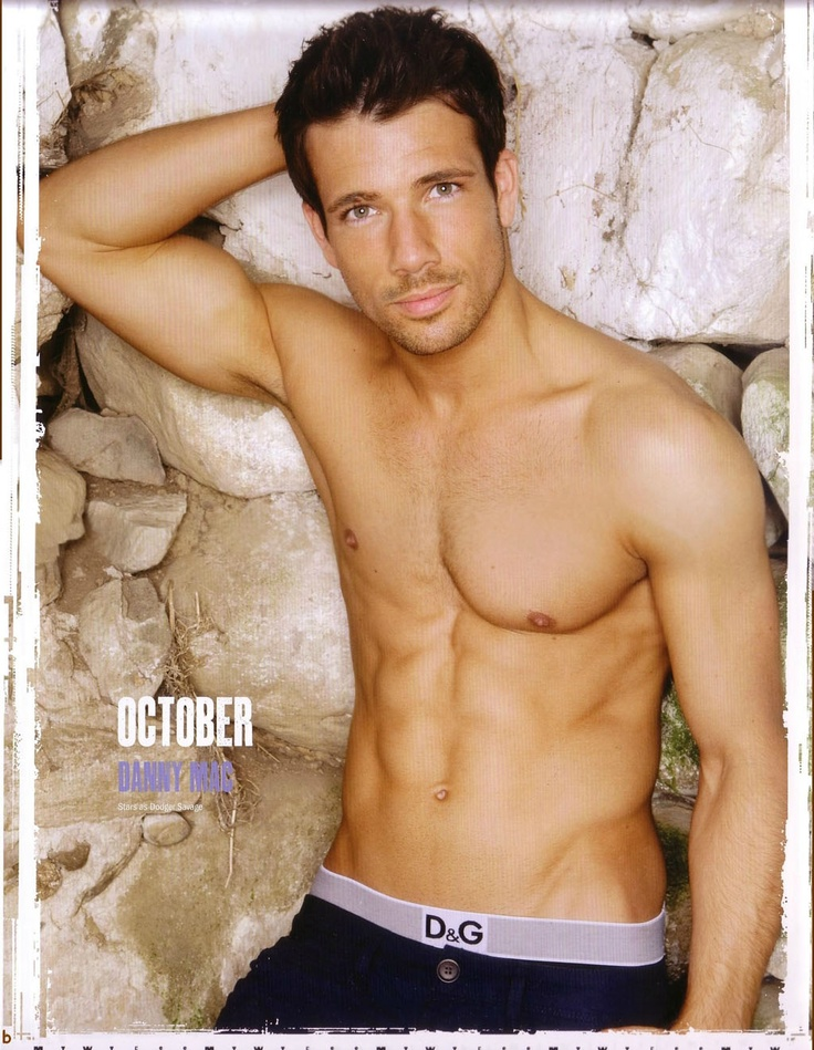 danny mac is hot with a capital H