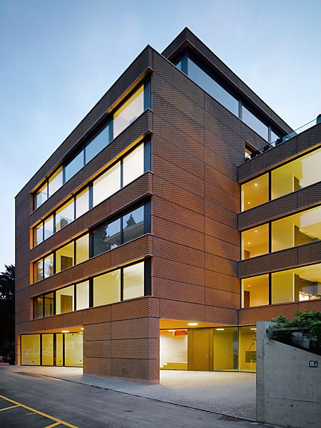 Residential And Commercial Building Zurich Wild Bar Heule Architekten Ag Archinect Fantastic
