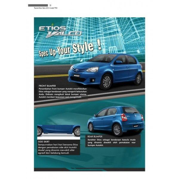 Bodykit Toyota Etios Valco