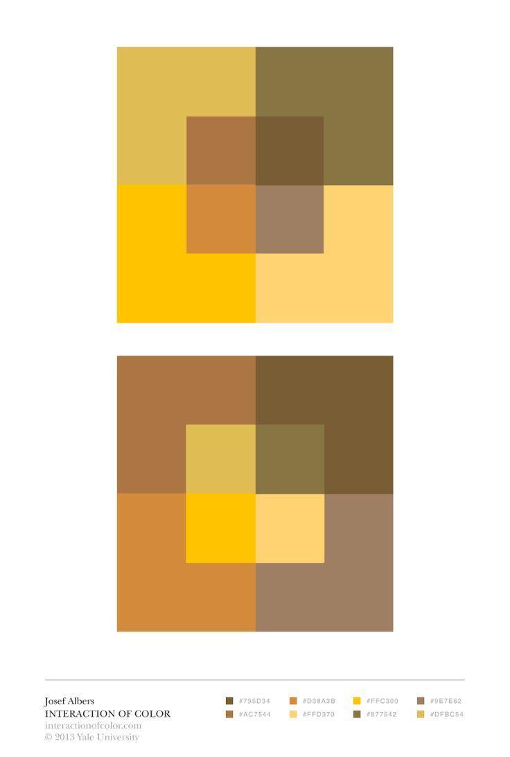 Albers Color intervals Color Studies Mathematics art