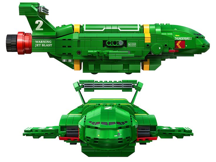 Vote for THUNDERBIRDS ARE GO to be an official LEGO set here ideas.lego.com/projects/d11d97d2-7b84-4011-879d-27443a086404 Designed in LDD, exported to Mecabricks, and rendered with Mental Ray using a HDRI image. Arch and Design materials were used with reflections set to quick interpolate for quicker rendered reflections that both fade and blur with distance from source. The bevel render effect function was used for micro bevels. Render elements were enabled and each 16 bit pass, d...