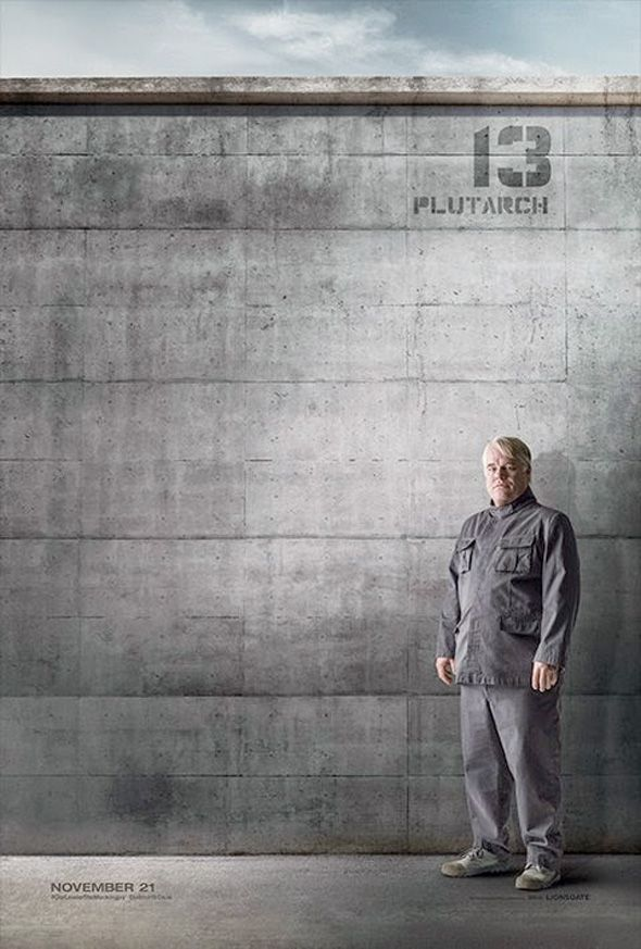 6 District 13 Character Posters for THE HUNGER GAMES: MOCKINGJAY Part 1