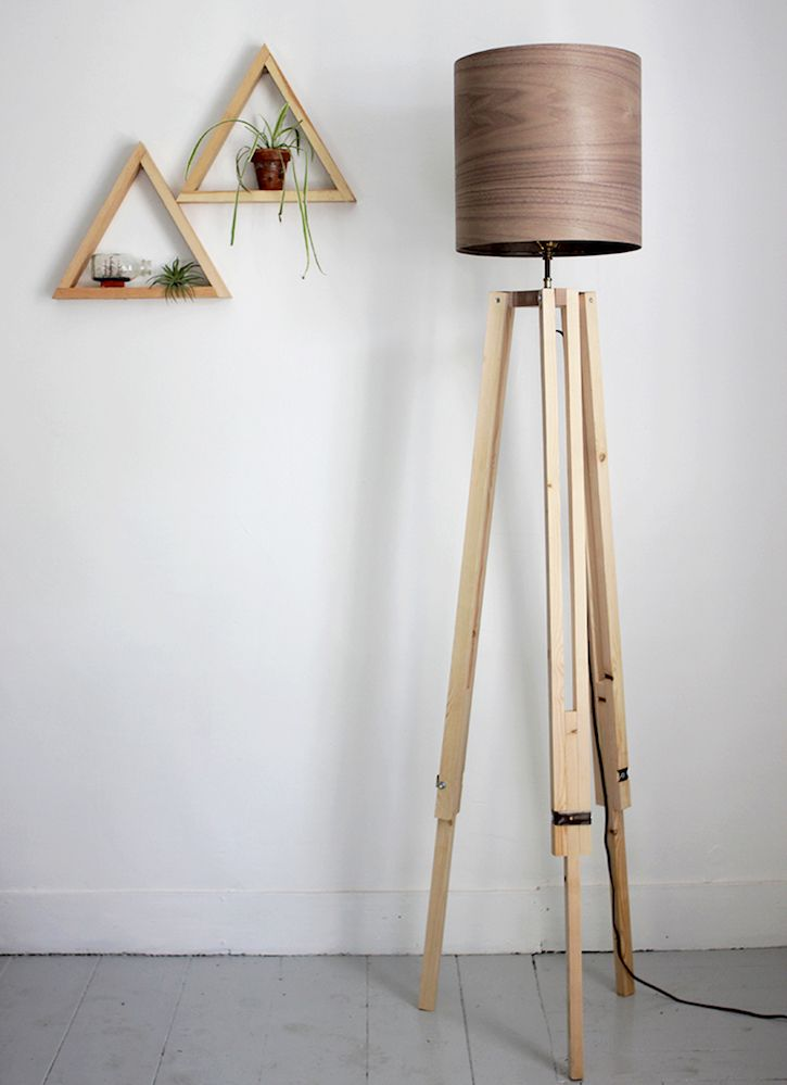 16 Brilliant Lighting Ideas You Can DIY on a Dime | Wooden ...