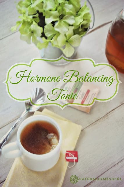 Looking to balance your hormones naturally? here is this recipe for a Hormone Balancing Tonic.