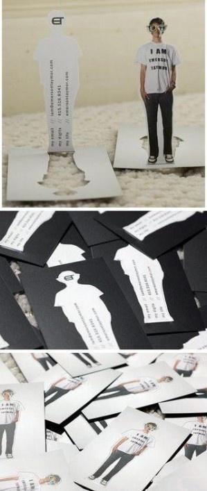 3D business card / repinned by http://stephaniegraphisme.wix.com/portfolio