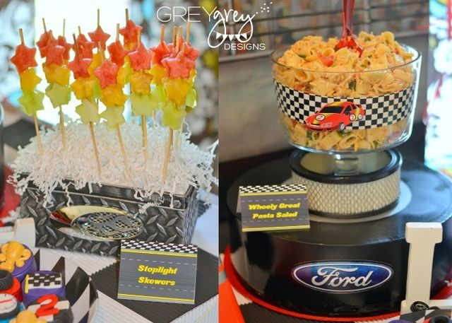 Birthday Party Ideas Cars Nascar And Birthdays
