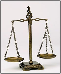 Scales of Justice - Antique $58