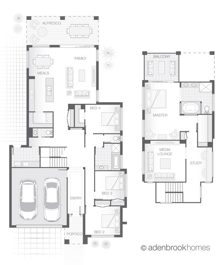 31 best floor plans images on pinterest car garage for Garage floor plans with living space