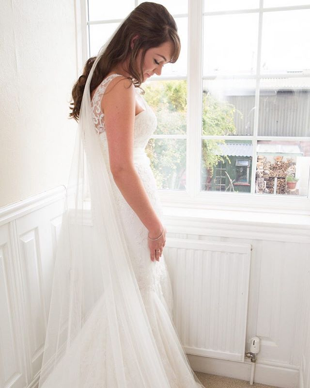 I love this natural capture of the beautiful Anne looking radiant lit by natural light. All dressed and ready for her big day. . . . . . . #weddingdress #weddingday #bridalgown #veil #weddinghair #bridalhair #bridalpreparationphotography #bridalfashion #bride #weddingtime #weddingphotography #weddingphotographer #devonweddingphotographer #naturallightphotography #documentaryphotography #documentaryweddingphotographer #northdevonwedding #northdevonphotographer #rockmywedding  #weddingplanning…