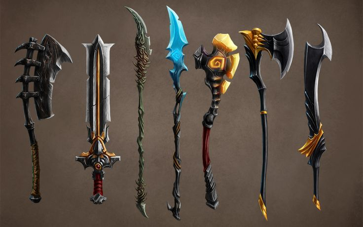 Weapons Concept by baklaher on deviantART | Create your own roleplaying game books w/ RPG Bard: www.rpgbard.com | Pathfinder PFRPG Dungeons and Dragons ADND DND OGL d20 OSR OSRIC Warhammer 40000 40k Fantasy Roleplay WFRP Star Wars Exalted World of Darkness Dragon Age Iron Kingdoms Fate Core System Savage Worlds Shadowrun Dungeon Crawl Classics DCC Call of Cthulhu CoC Basic Role Playing BRP Traveller Battletech The One Ring TOR