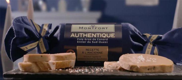 Pourquoi est-ce que les bûches seraient réservées qu'au dessert ? Avec le Foie Gras Montfort osez l'entrée gourmande ! Epatez vos convives en u