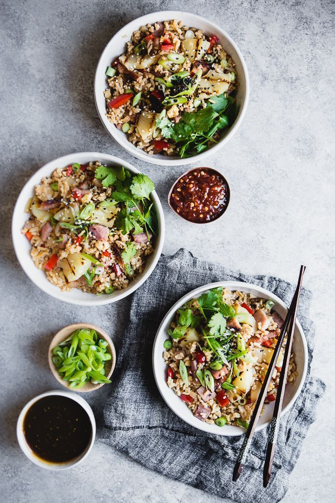 Ham and Pineapple Fried Rice | The Modern Proper