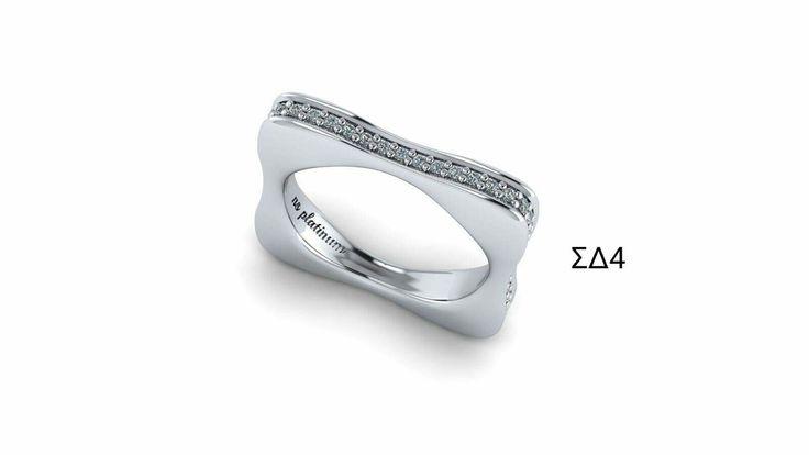 Ring platinum and diamonds! Δαχτυλίδι από πλατίνα με διαμάντια!