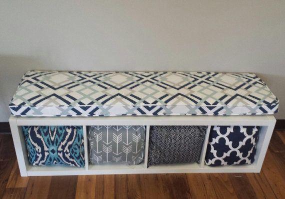 Sale Ikea Kallax Custom Cushion  for Nursery , Playroom , Organization Bench Cushion, Mudrooom Cushion