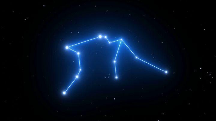 Aquarius Constellation On A Beautiful Starry Night Background Starry Night Background Aquarius Constellation Constellations