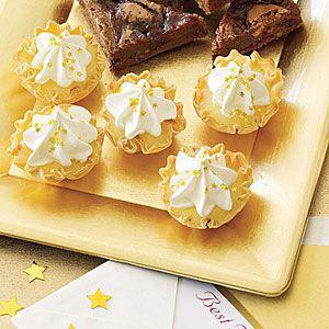 Lemon Tarts   MyRecipes.com