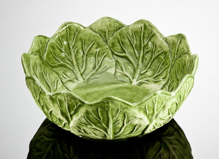 BASSANO runde Salat Schale Schüssel Ausgefallene italienische Keramik 22x9