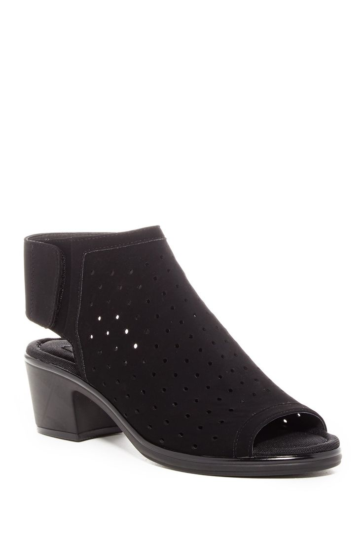 Phoebiey Perforated Open Toe Sandal