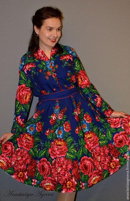 платья из Платков - Поиск в Google