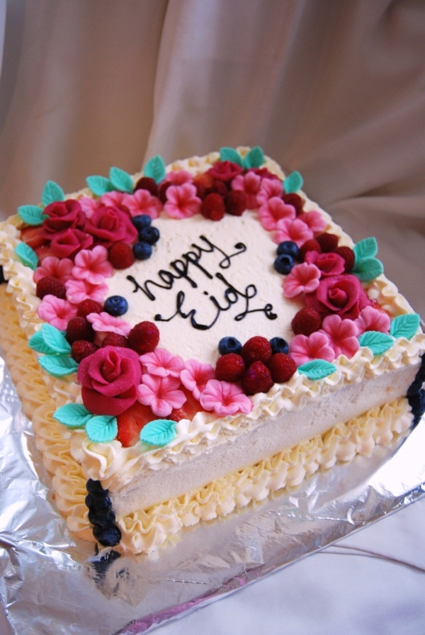 Fresh cream chocolate cake decorating ideas Pinterest Fresh cream, Eid and Eid cakes