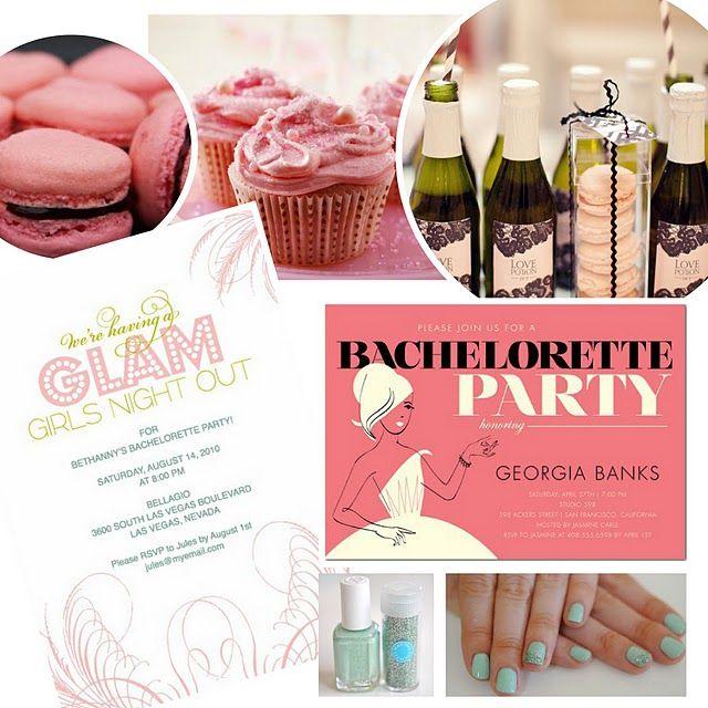 A couple cute bachelorette party themes.