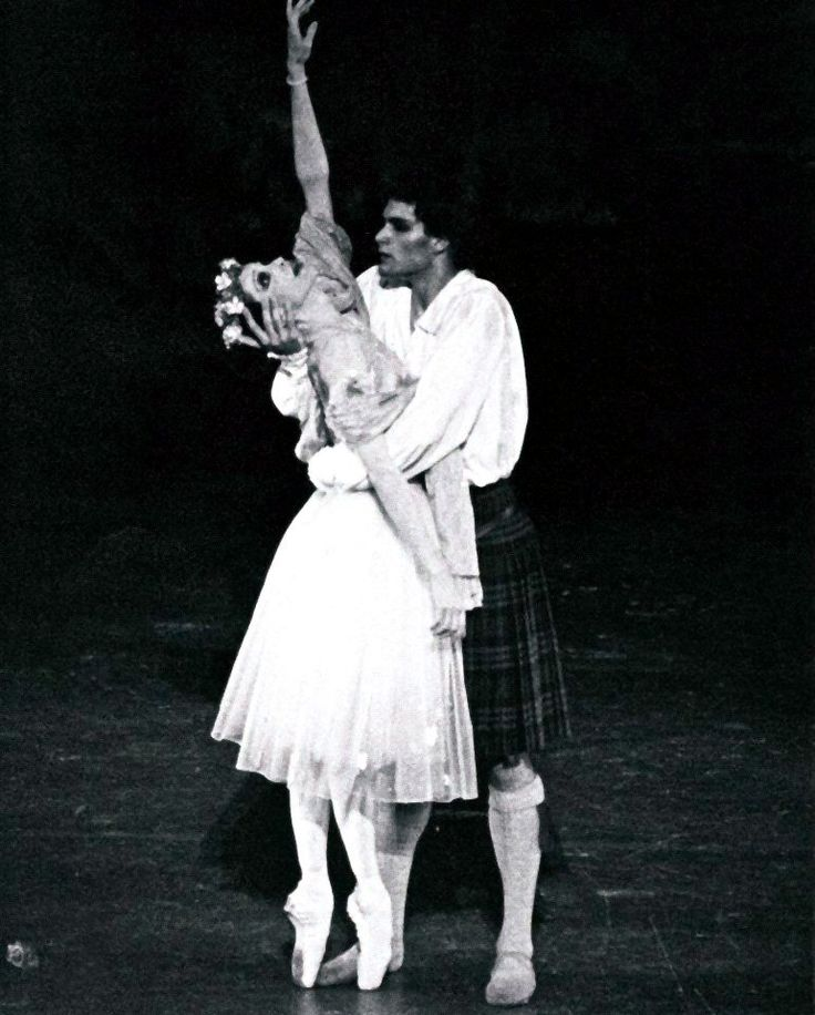 Paul Chalmer answers the Gramilano Questionnaire… Dancers' Edition - Paul Chalmer as James in La Sylphide with Birgit Keil - Stuttgart Ballet