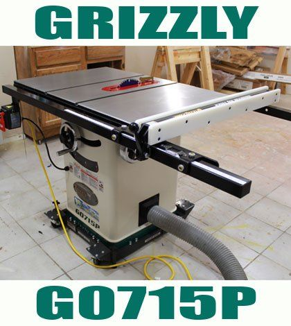 Grizzly G0715P Hybrid Table Saw – Jays Custom Creations