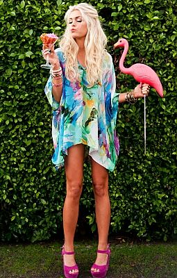Show Me Your Mumu Tunic , so obsessed with the colors.