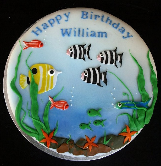 1000 Images About Tropical Fish Cakes On Pinterest Deep