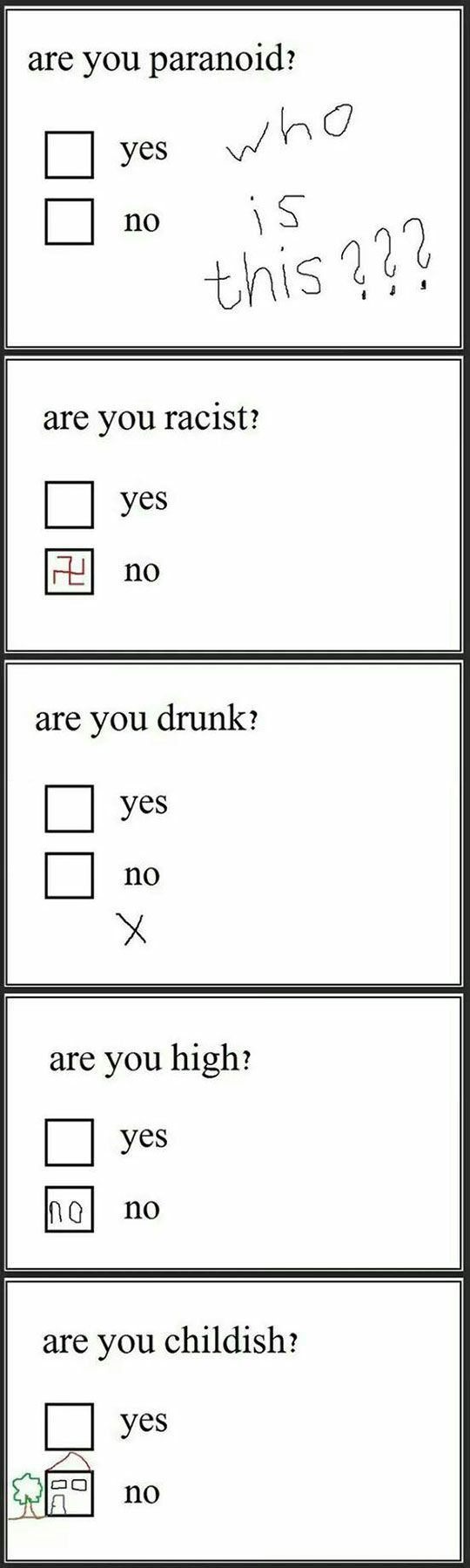 Think Twice Next Time You Answer A Questionnaire