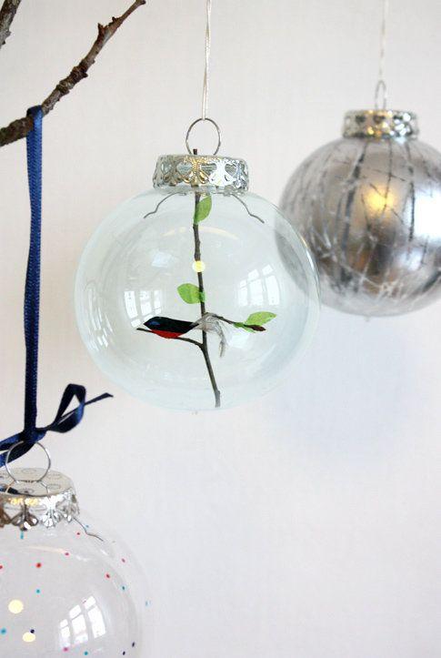 Türchen Nr. 17! Selbstgestaltete Christbaumkugeln aus Glas von philuko   SoLebIch.de