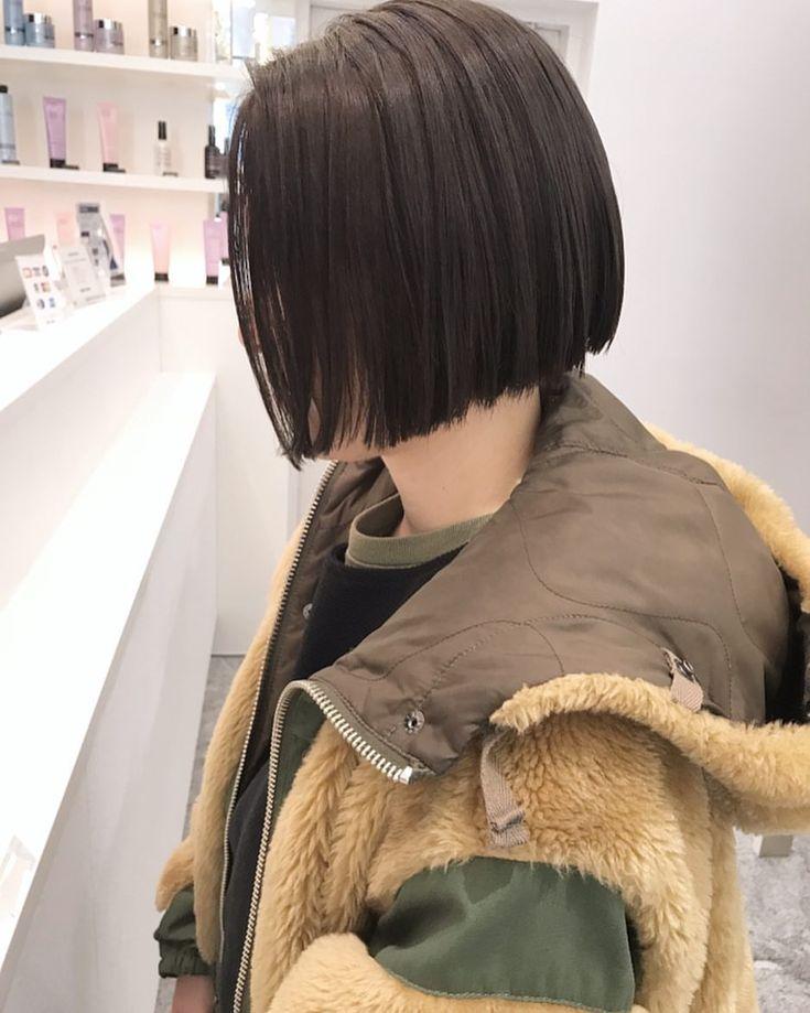 ミニボブ ・ 襟足ギリギリからのミニボブおすすめのです♡ ・ 秋冬の洋服もスッキリ着れます ・ ・ #shima #bob #hair #ボブ #ロブ#切りっぱなしボブ #パーマ #ウェーブ #ヘアー #ヘアスタイル #カラー #スモーキー#ラベンダースモーキー#ハイライト #ローライト #ミニボブ #ウェットヘアー #セミウェット #プロダクト #コスメキッチン#オーガニックコスメ #オイルスタイリング#ショート#ショートボブ