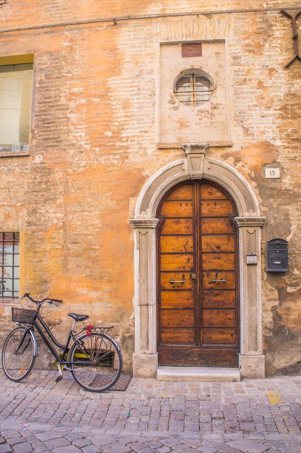 Door in Senigallia, Italy - photo by @thetraveltester