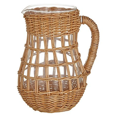 Buy John Lewis Willow Weave Carafe Online at johnlewis.com