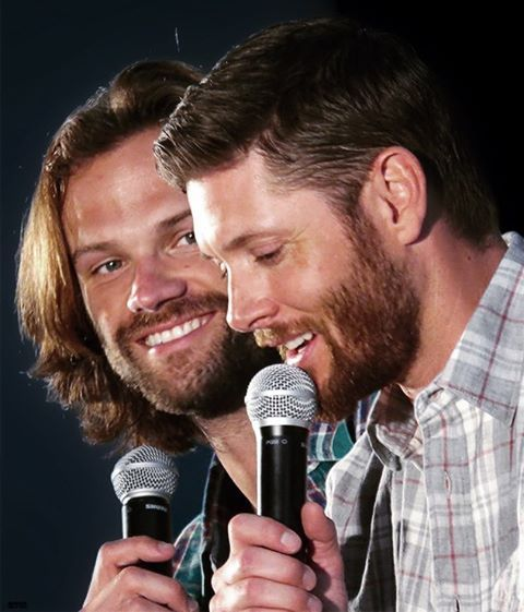 Jared and Jensen #PittCon 2016 Pic Credit: Credit: http://wellcometothedarkside.tumblr.com/  If you copy or repost this pic, please give credit.