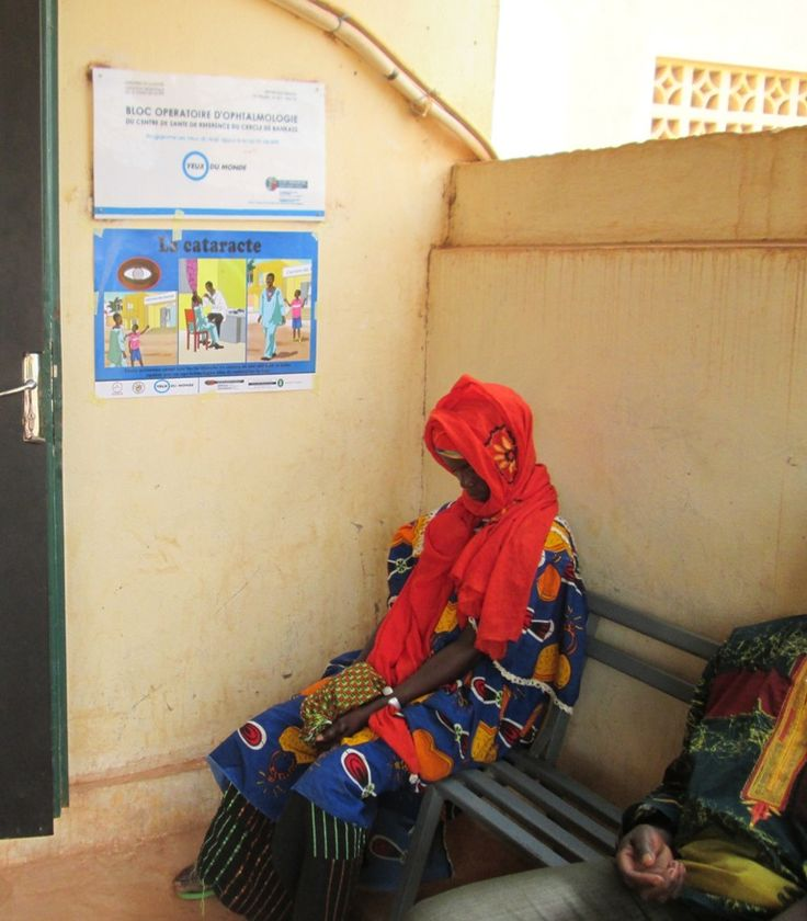 l Centro Salud de Referencia de Bankass, en Malí, recibe una comisión medicoquirúrgica con personal local formado por Ojos del mundo