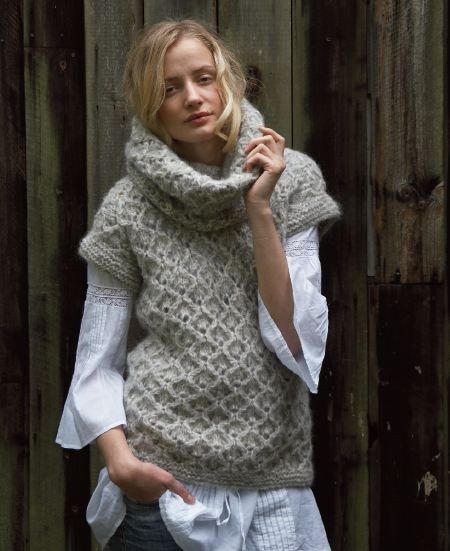 Cowl Neck Hoodie Knitting Pattern : Cowl neck sweater pattern Knitting & Crocheting Projects ...