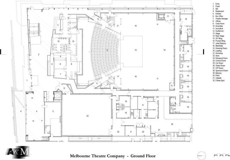 8 best Theatre plan info images on Pinterest Floor plans - site plan template