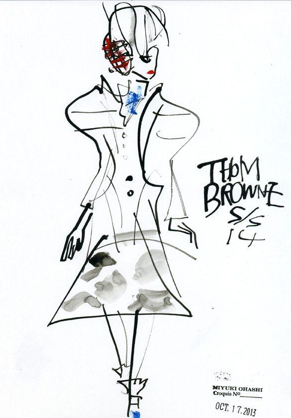 Thom Browne: spring 2014RTW