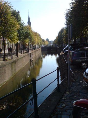 gracht Schoonhoven Netherlands