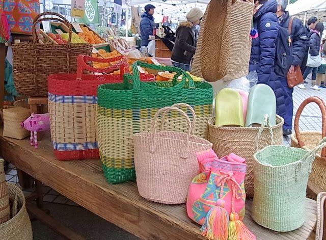 Natural Craft ShopFARMER'S MARKET@UNU: サイザルビックバック、入荷しました!