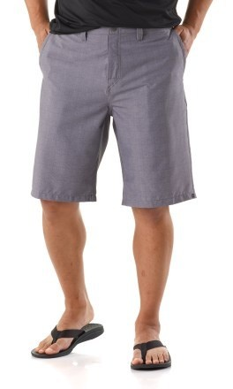 Stay casual or go swimming with these stylish QUICKSILVER Neolithic Amphibian Men's Shorts! You'll be prepared when that stroll on the beach leads to a spontaneous surf session:) Dries quickly to keep you comfortable. Have 1 rear rip-and-stick pocket, 1 rear button-close pocket and 2 hand pockets for stashing your essentials. Brought to you from REI. #greendorm