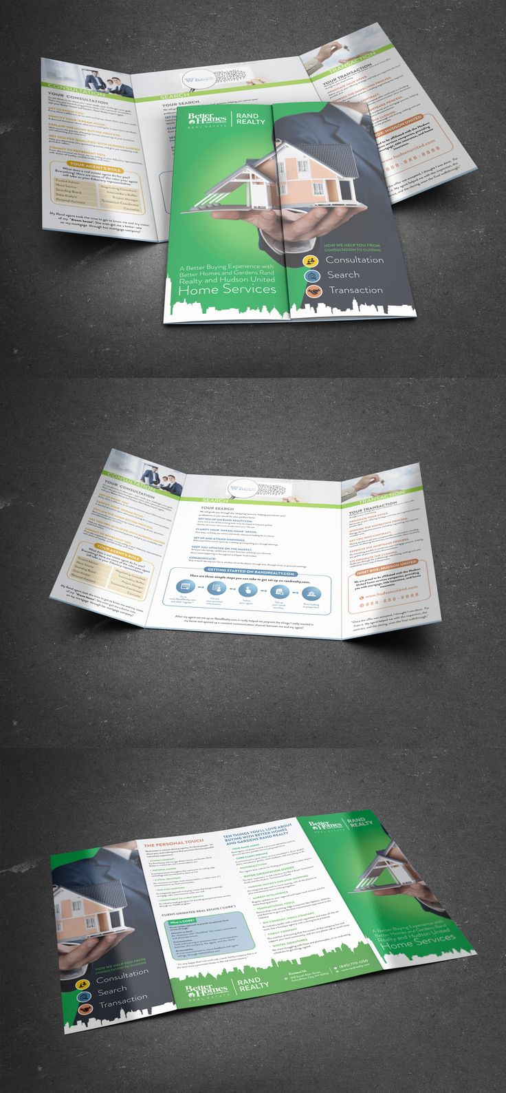 gatefold brochure