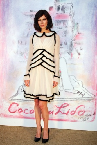 Anna Mouglalis Attends The Chanel Paris Venice Cruise 2010 Collection French ChicFrench CountryFrench