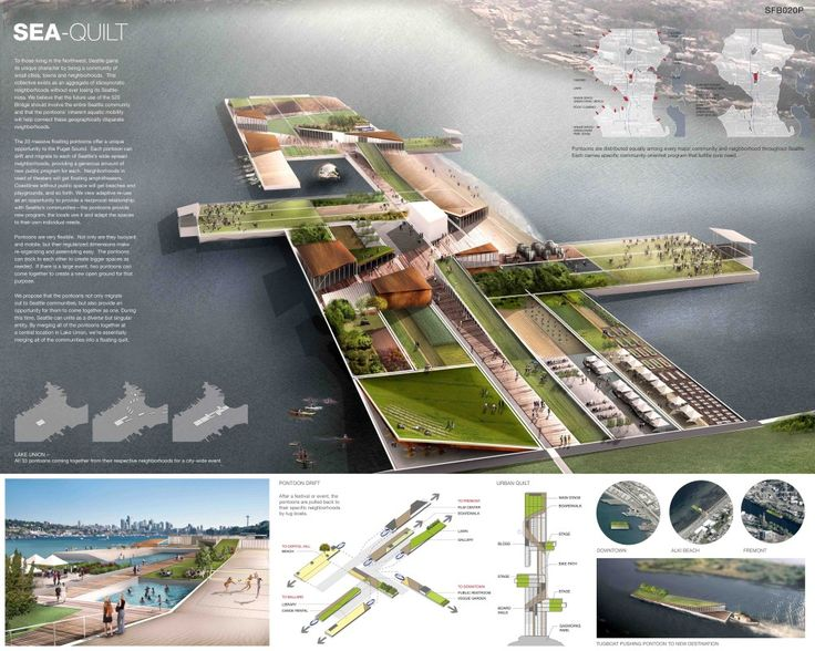 Transforming Seattle's 520 Floating Bridge Competition Winners