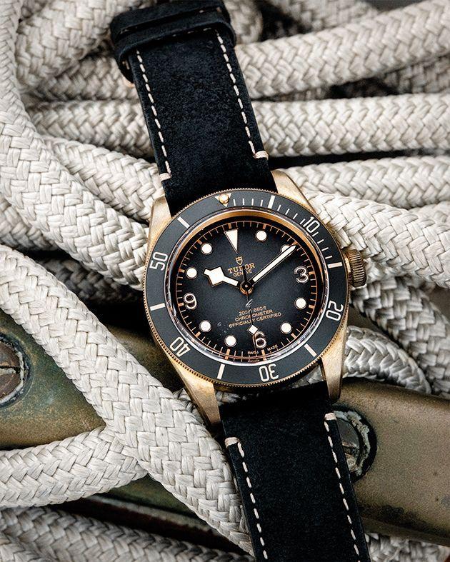 Tudor S Black Bay Bronze Watch Daman Vintage Watch Vintagewatches Tudor Blackbay Bronzewatch Timepieces Need Wat Montre Bracelet Montre Quartz Montre
