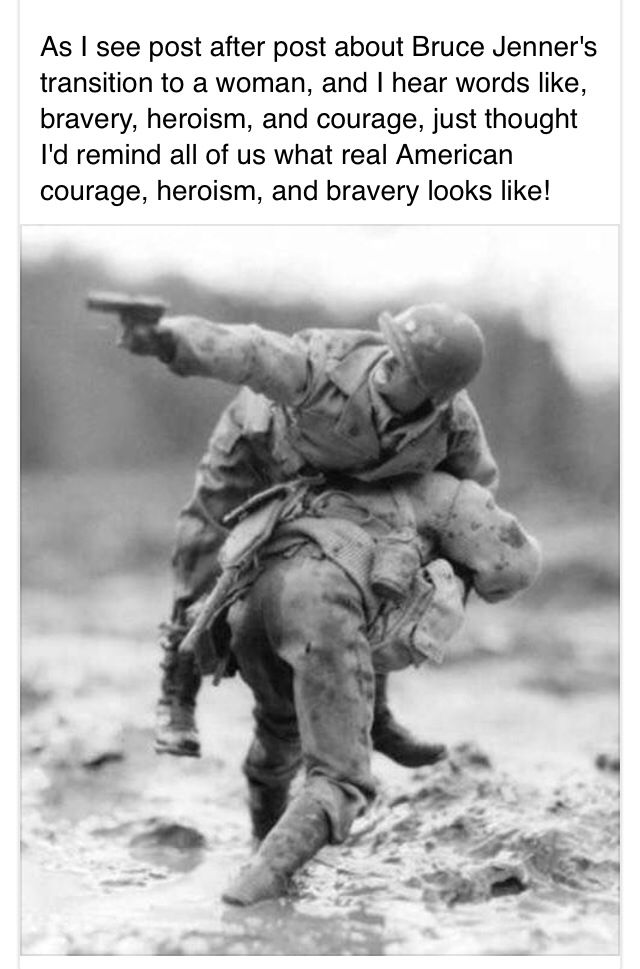 Brave soldiers. Protecting our country to the best of their ability