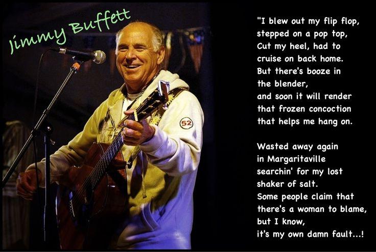 Jimmy Buffett margaritaville #song lyrics