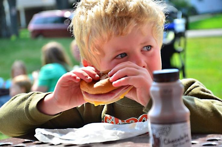 Summer Food Service Program at Moran Park in Holland Michigan