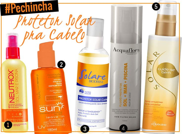 Protetor solar para cabelo: uma seleção de produtos bons e baratos pra manter o cabelo lindo e protegido do sol no verão!